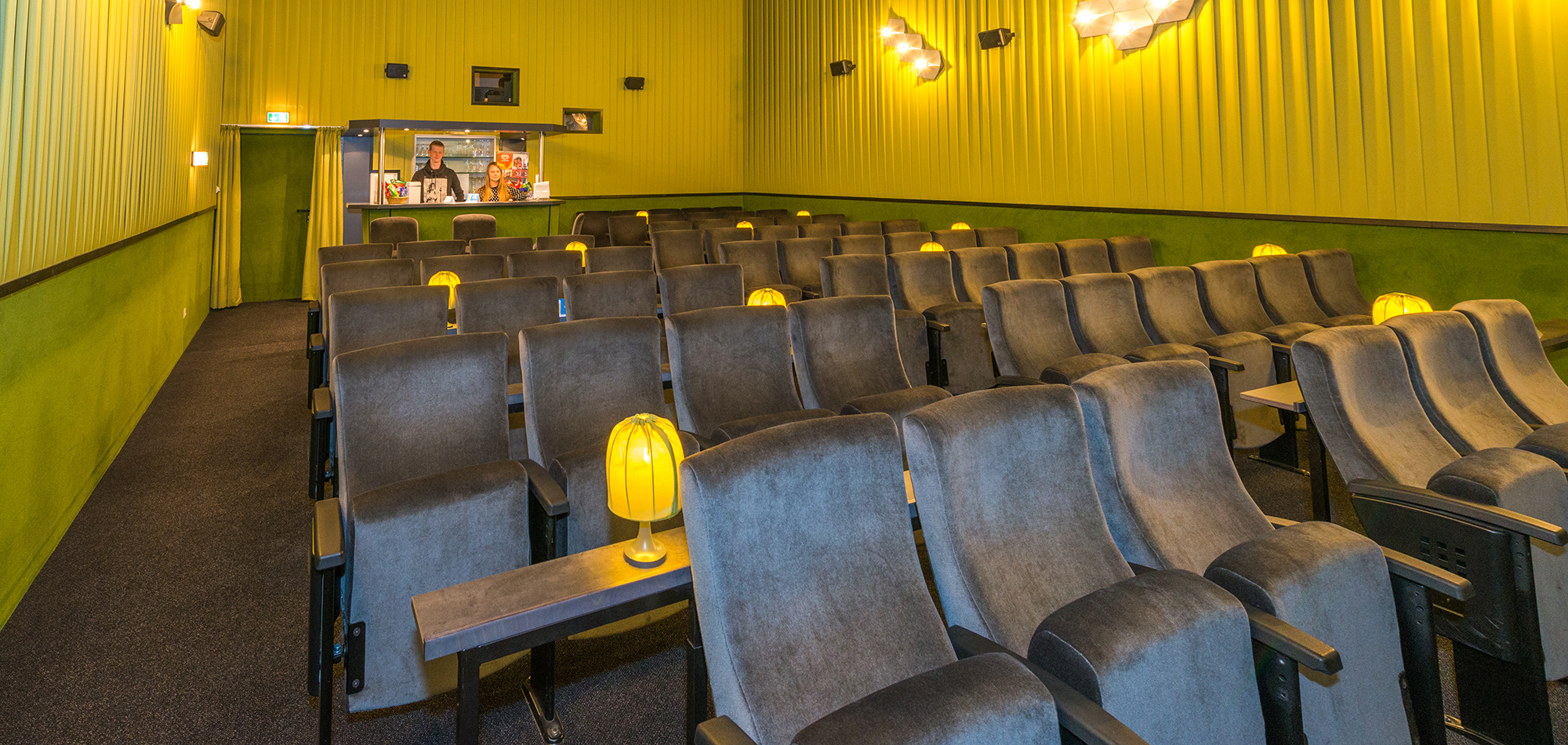 Saal Movie MERKUR-Film-Center